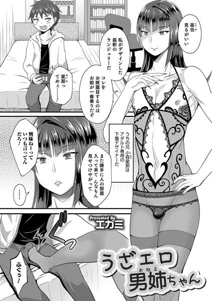 [女装・男の娘]「うざエロ男姉ちゃん(単話)」(エガミ)  同人誌