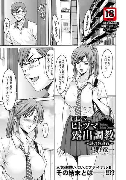 ヒトヅマ露出調教 ~謎の脅迫者~(単話)