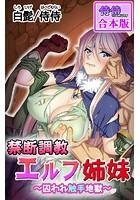 禁断調教エルフ姉妹〜囚われ触手地獄〜【合本版】