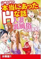 山崎大紀の本当にあったHな話 人妻裏風俗ベスト100 分冊版 1
