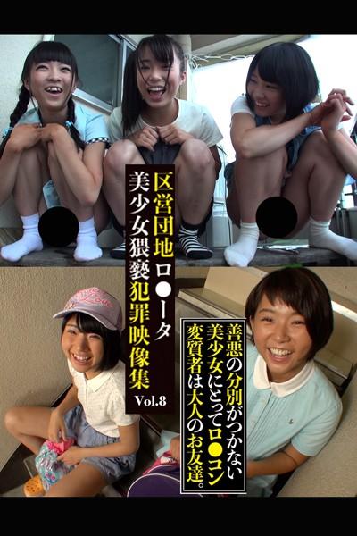 区営団地ロ●ータ美少女猥褻犯罪映像集 Vol.8