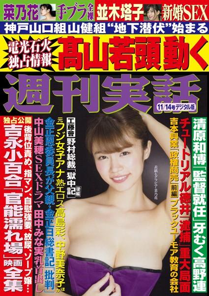 週刊実話 11月14日号