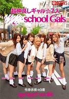 超仲良しギャル☆7人 school Gais k740aplst00833のパッケージ画像