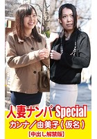 人妻ナンパSpecialカンナ/由美子(仮名) k769aneme00248のパッケージ画像