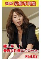 MM妄想写真集 癒し系!!美熟女性感エスコート PART.02 k769aneme00493のパッケージ画像