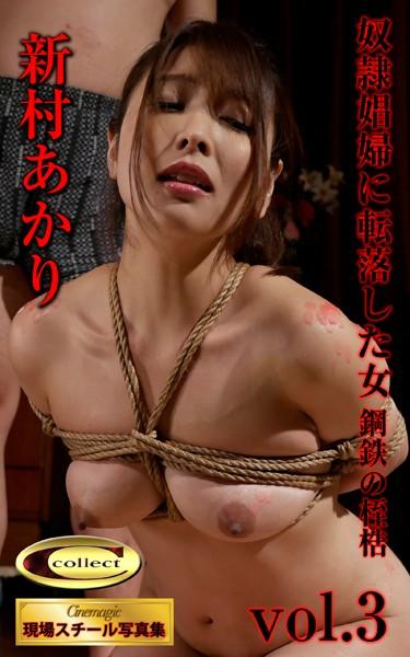 シネマジック現場スチール写真集 奴●娼婦に転落した女 鋼鉄の桎梏 新村あかり Vol.3