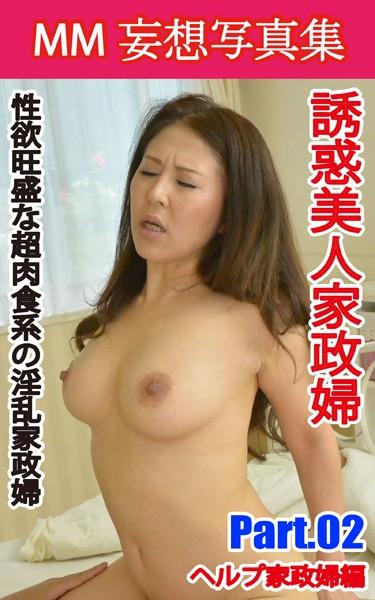 MM妄想写真集 誘惑美人家政婦 PART.02