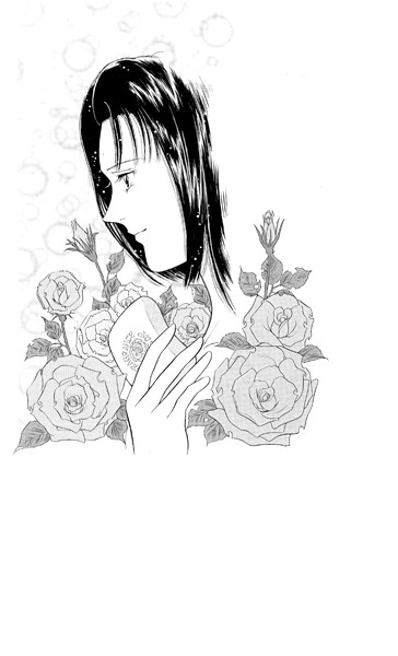 【女子校生 エロ漫画】薔薇の香りと百合のぬくもり(単話)