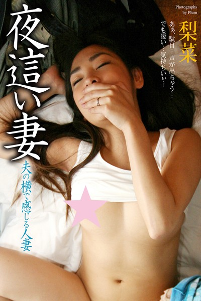 夜●い妻 夫の横で感じる人妻 梨菜 写真集